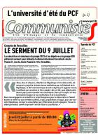 Journal CommunisteS n°731